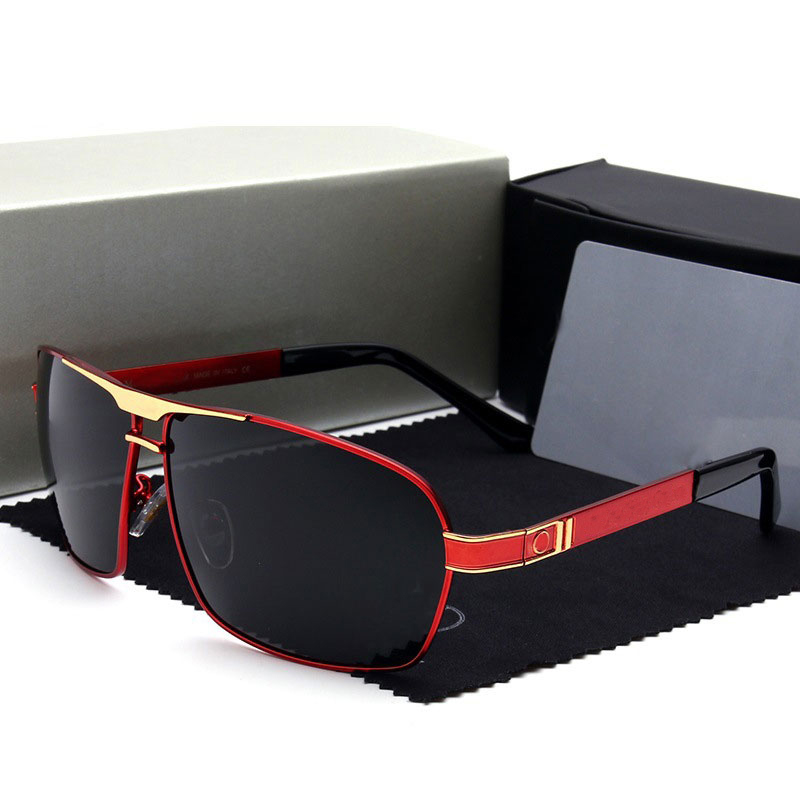 Fashion Men Polarized Sunglasses Brand Mercede glasses Eyewear lentes de sol mujer Driving Glasses Oculos De Sol 722