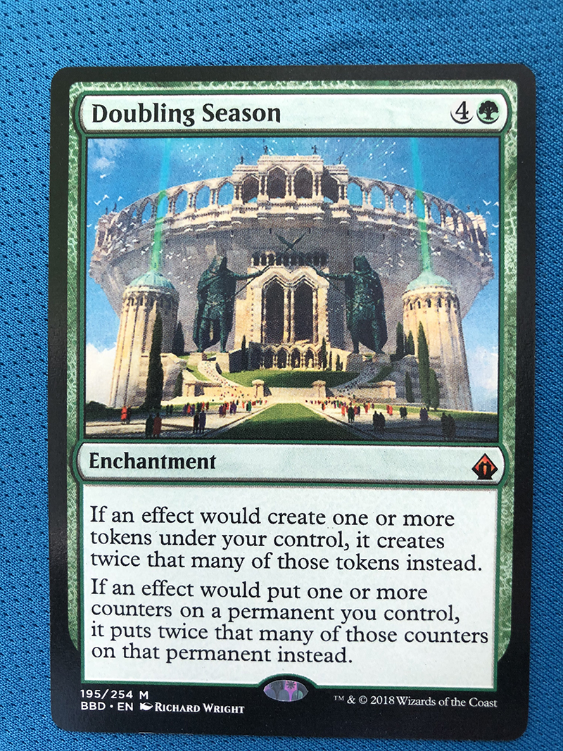 Doubling Season BBD Hologram Magician ProxyKing 8.0 VIP The Proxy Cards To Gathering Every Single Mg Card.