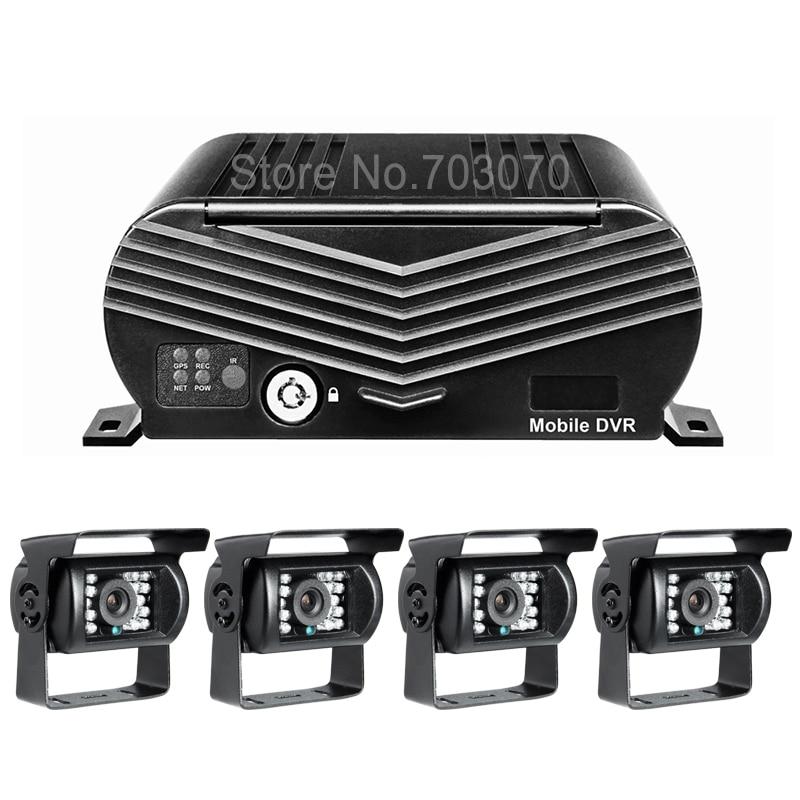 Gision Menu OSD System Linux 3G GPS Car Car Dvr z CMSV6 Bezpłatne - Elektronika Samochodowa - Zdjęcie 2