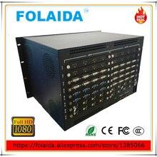 Профессиональный 8U Металл 20 в 20 выход HDMI CCTV матричный коммутатор 20x20 HD 1080 P EDID-05
