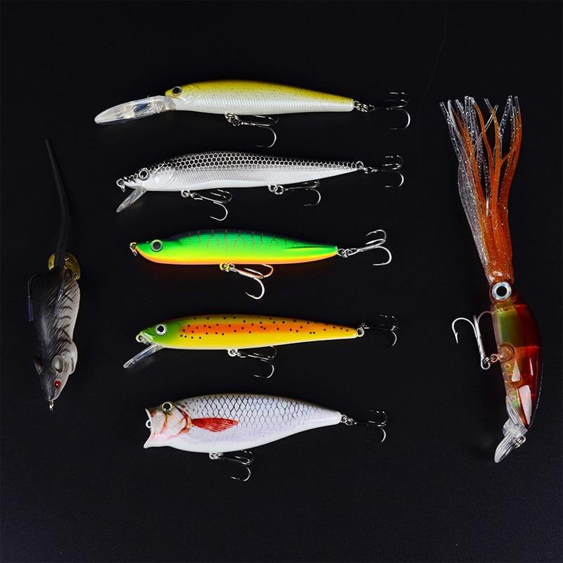 Vissen 14 stk / lot Fiske Lure Set Kina Hard Bait Big Games Wobbler - Fiske - Bilde 5