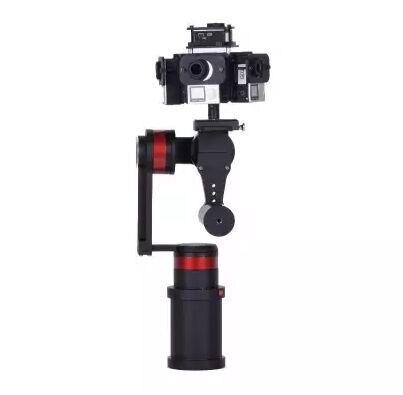 bilder für WenPod TARZAN-G VR 3-xis Handheld Panorama Stabilisator Brushless Gimbal mit die kleinste fuß-print Große für VR Foto Video