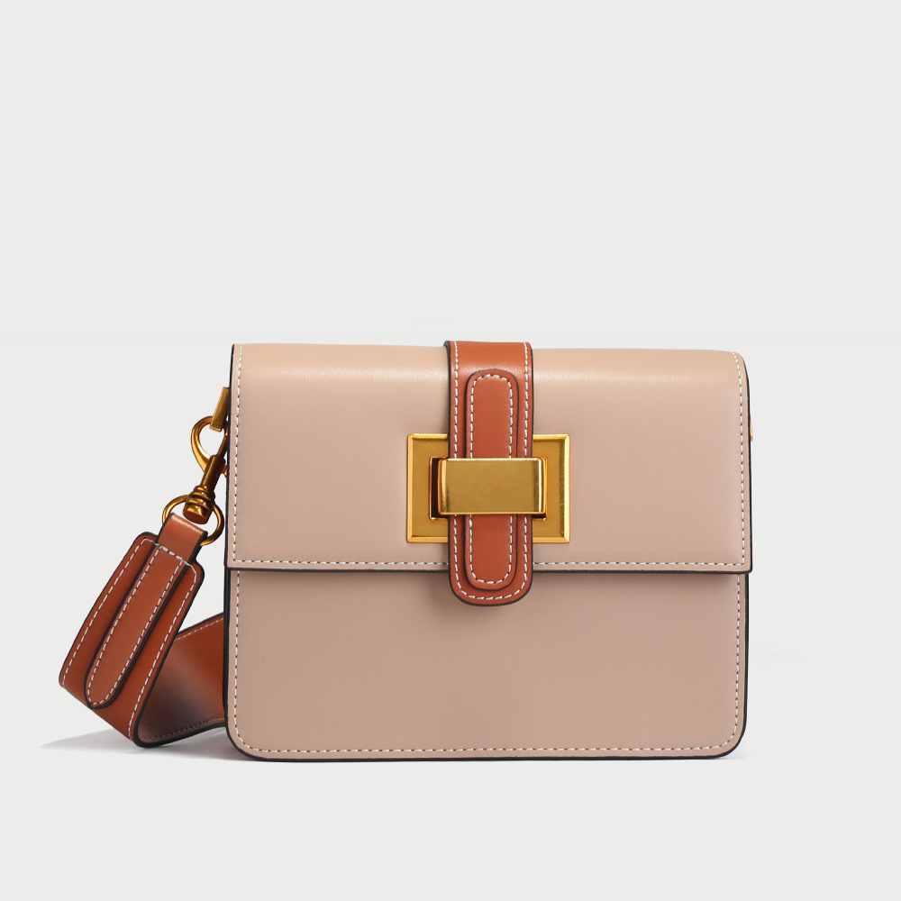 Sweet Style Split Leather Flap Bag Women Luxury Design Crossbody Bag Lock Cover Messenger Bag for Girls Bolsa Female Bag new arrival fashion design women bag split leather crossbody bag luxury brand lady messenger bag cover lock shoulder bag