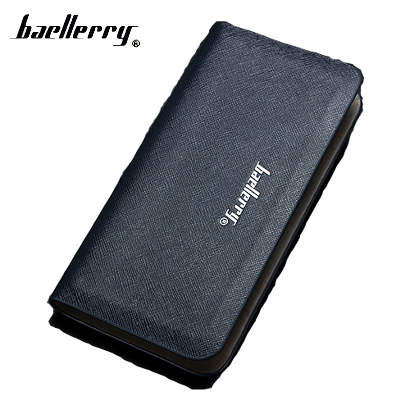 Baellerry Long Phone Clutch Men Wallet Male Coin Purse Cuzdan For Baellery Card Money Bag Portomonee Walet Perse Vallet Carteras