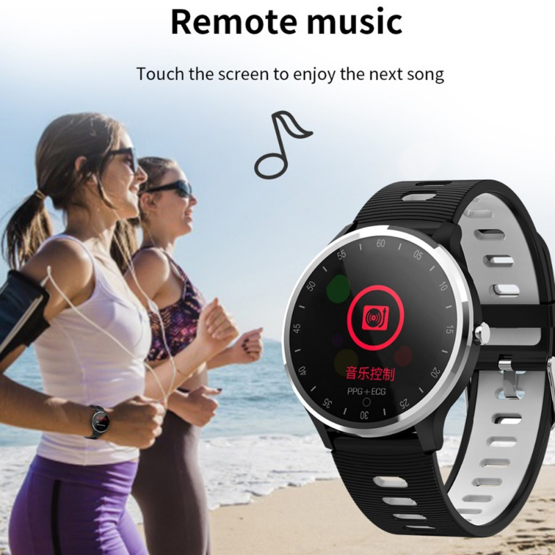 Smart Bracelet Fitness Tracker Smart Wristband Real-time Smart Watch Waterproof .Long-lasting ECG PPG Heart Rate Blood Pressure