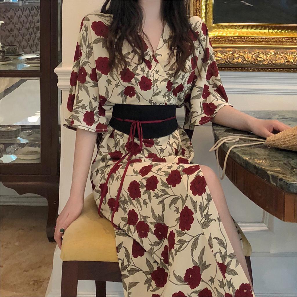ac7f49050 2019 kimono japonés mujer yukata Japón kimono vestido ropa japonesa kimonos  japoneses ...