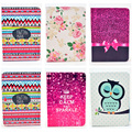 Fashion Rose Owl Pattern Wallet Flip PU Leather Back Cover For Samsung Galaxy Note 10.1 N8000 Case Tablet Shell Protector Funda