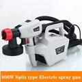 800W Разделение тип Электрический пульверизатор съемный высокое Давление Electric Paint пистолет-распылитель