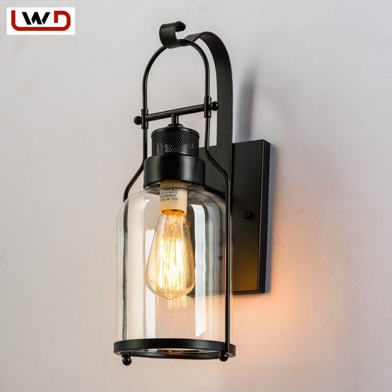 Vintage Industrial Wall Sconces Retro Wall Light for ...