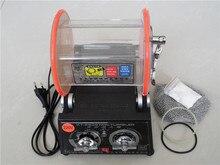 ¡ Promoción!! profesional 220 V Mini Tumbler Joyería Rotatoria Del Vaso Pulidora finisher Máquina con El Pulido de Bolas
