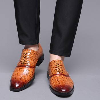 MUQGEW Fashion Hollow Out - Leather Dress Shoes