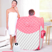 Portable Steam Sauna 2019 New Style Home SAP 2L 1000W Life Cabin Wet Therapy Detox Lose Weight Hammam