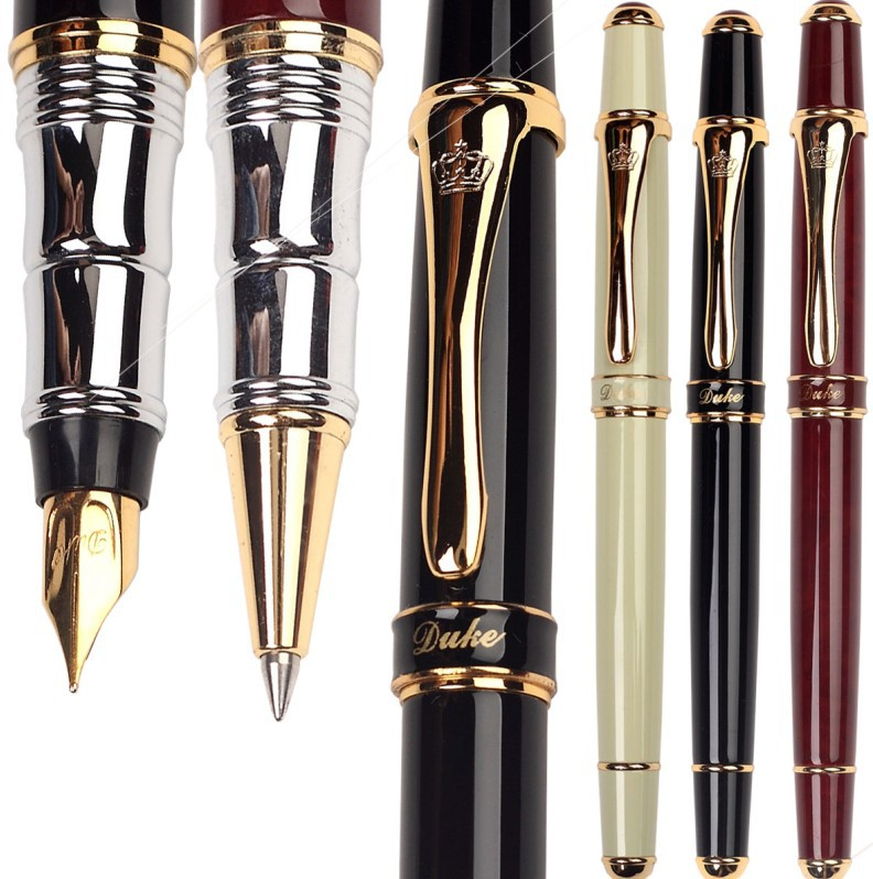 все цены на  Gel RollerBall pen  Or Fountain Pen Original DUKE 8-1 sign pens  Free Shipping  онлайн