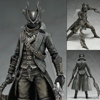 NEW hot 15m Bloodborne Hunter Ludwig action figure collection toys Christmas gift with box