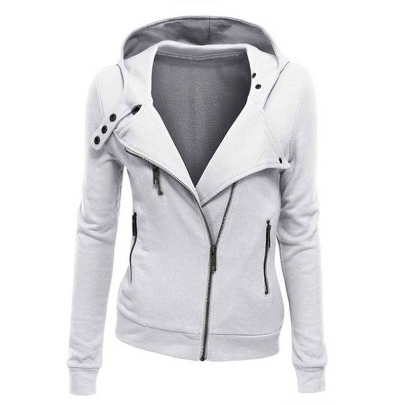 arrival Hooded Jacket Long Sleeve Women Sweatshirts Zip Pullover Hoodies