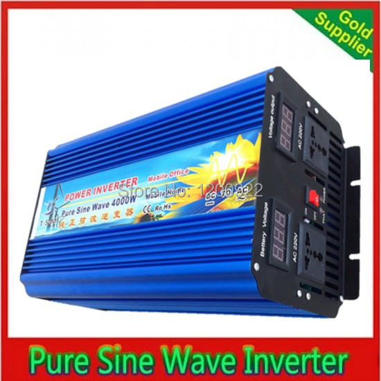 Groovy Us 498 21 Continue Power 4000W 8000W Dc Ac Inverter Pure Sine Wave For Solar Wind Generator Home Use Air Conditioner Fridge Inverter In Inverters Download Free Architecture Designs Scobabritishbridgeorg