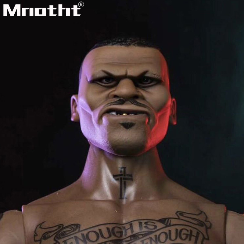 1/6 Scale Head Sculpt The kingdom of gangs Red peach 2 Benson Head Model for 12inch action figure toys m5 цена