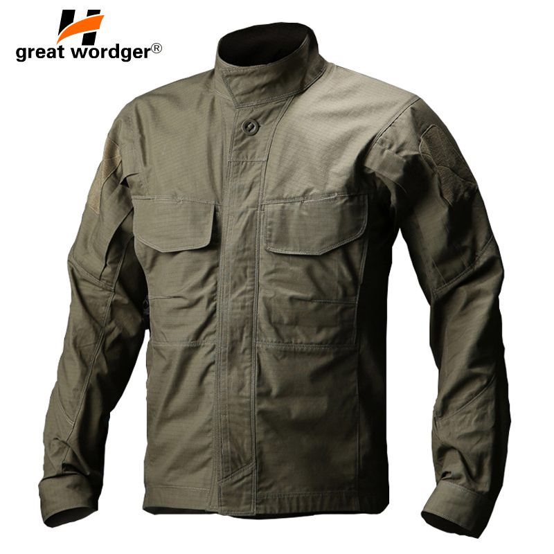 TACVASEN-Men-Army-Military-Shirt-Waterproof-Tactical-Shirt-Summer-Autumn-Long-Sleeve-Shirts-Multi-pocket-Clothes