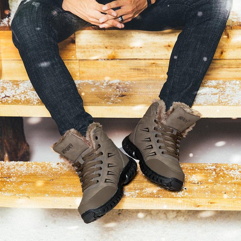 Taille Cnfiia Bottes Chaussures Qualité Mens 47 Hommes Fourrure Chaud D'hiver Militaire Nouveau Plus 2018 Slip Black 46 48 Boots De Non Mâle 45 Boots Neige Noir brown 5rrRwqI