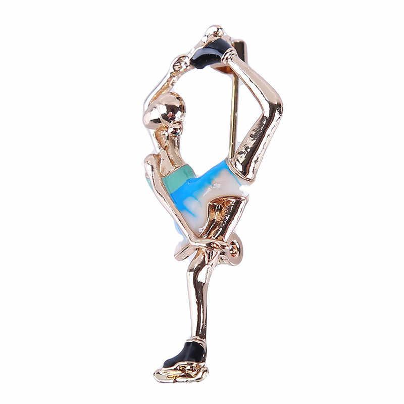 Mới Craetive Tinh Tế Nhiều Màu Xinh Xắn Váy Vũ Công Ba Lê Ballerinas Huy Hiệu Nữ Bé Gái Tặng Chân Huy Hiệu Vũ Công Ba Lê Bé Gái