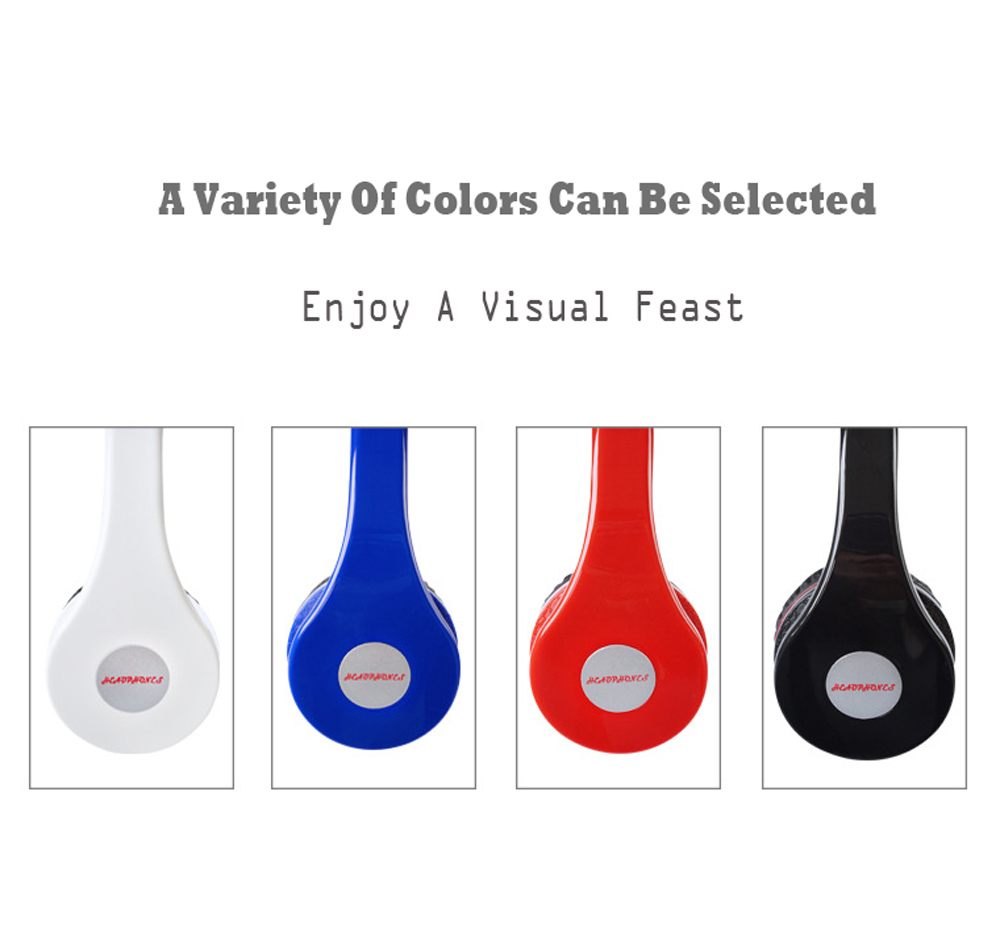 Folding portable High fidelity Subwoofer wired Straight Head-mounted earphone 3.5mmAUX Gaming Headset for IOS android mp3 player