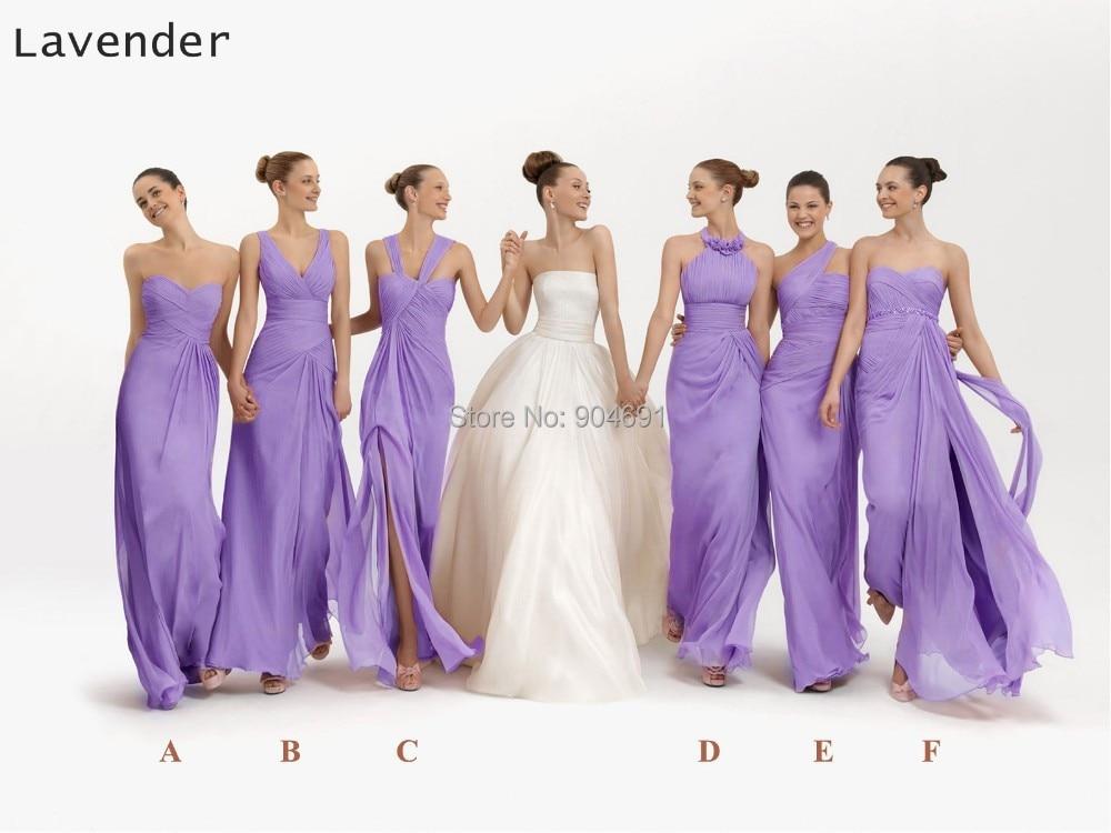 2015 New Bridesmaid Dresses Long A line Chiffon Gowns Blush Pink ...