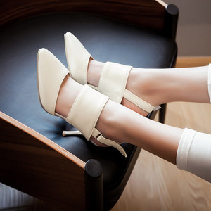 Image 3 - 2017 אופנה חדשה Sapato Feminino נשים סנדלי גלדיאטור גודל גדול 34 47 נשות סנדלי העקב גבוה נעלי גברת נשים משאבות 3 31