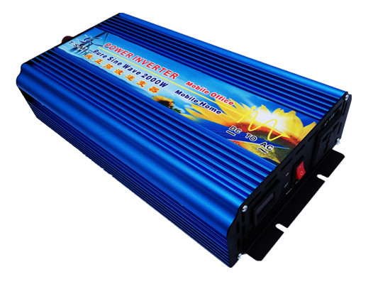цена на digital display 2KW 2000W Pure sine wave inverter 24V DC to 220V AC PV Solar Inverter Power inverter