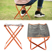 Portable Folding Fishing Chair Seat Outdoor Lightweight Camping Fishing Foldable Chair Picnic Beach Chair Aluminum Alloy Support