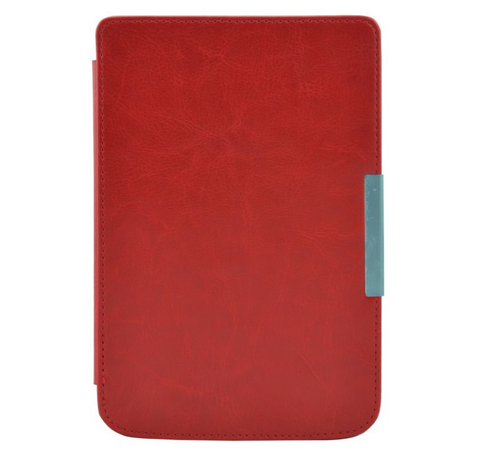 New Crazy Horse Magnetic Flip Leather Cover Case For Pocketbook Touch 614624626 6 6 inch Free Shipping (6)
