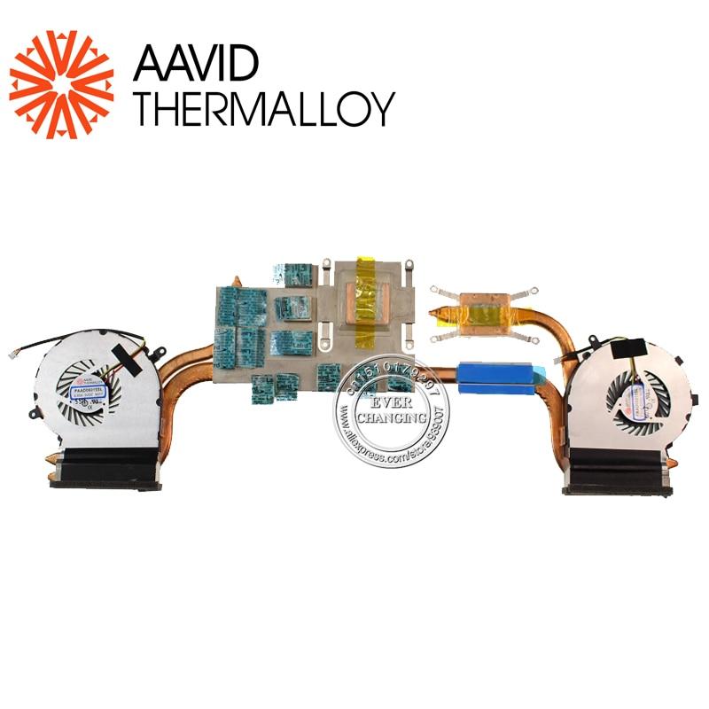 New Genuine For MSI GE62 CPU Fan Heatsink PAAD06015SL N0302  N301New Genuine For MSI GE62 CPU Fan Heatsink PAAD06015SL N0302  N301