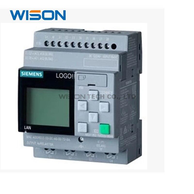 Novo 6ed1052-1md08-0ba0 052-1md00-0ba8 6ed1 052-1md00-0ba8 logotipo do controlador 12/24rce módulo de exibição 12/24 v dc/relé
