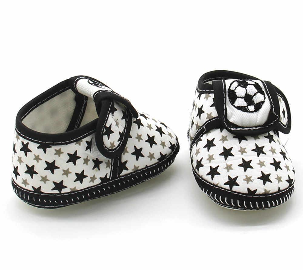 Recién Nacido bebé estrella niñas niños suela suave Prewalker cálido Casual Zapatos planos Zapatos de bebe Scarpe da bambino * 40