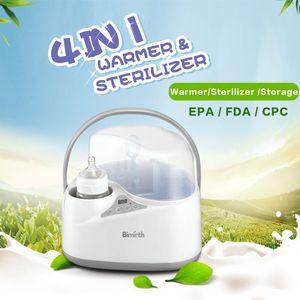 New Baby Milk Heating Milk Bottle Sterilizer Thermostat Disinfection Food Steam Heating Electric Multifunction Bottle Warmer