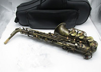 High Quality Alto Sax Custom Mark VI Saxophone Alto Copper Antique Saxophone Instruments E Flat Sax