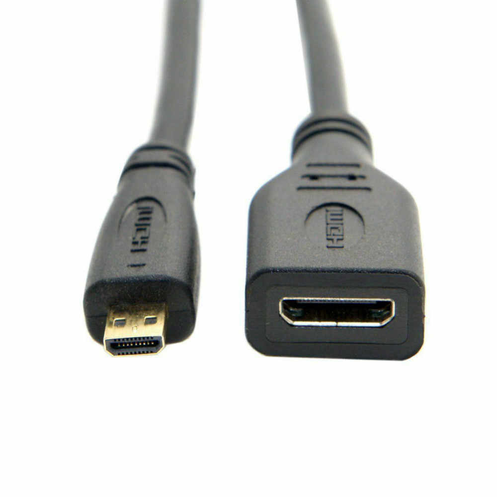 Micro HDMI Type D HDMI ĐẦU Đực Loại MỘT Bộ Chuyển Đổi Dây Cáp Nam-Nữ Cổng Kết Nối 1080 P Cho màn hình Màn Hình
