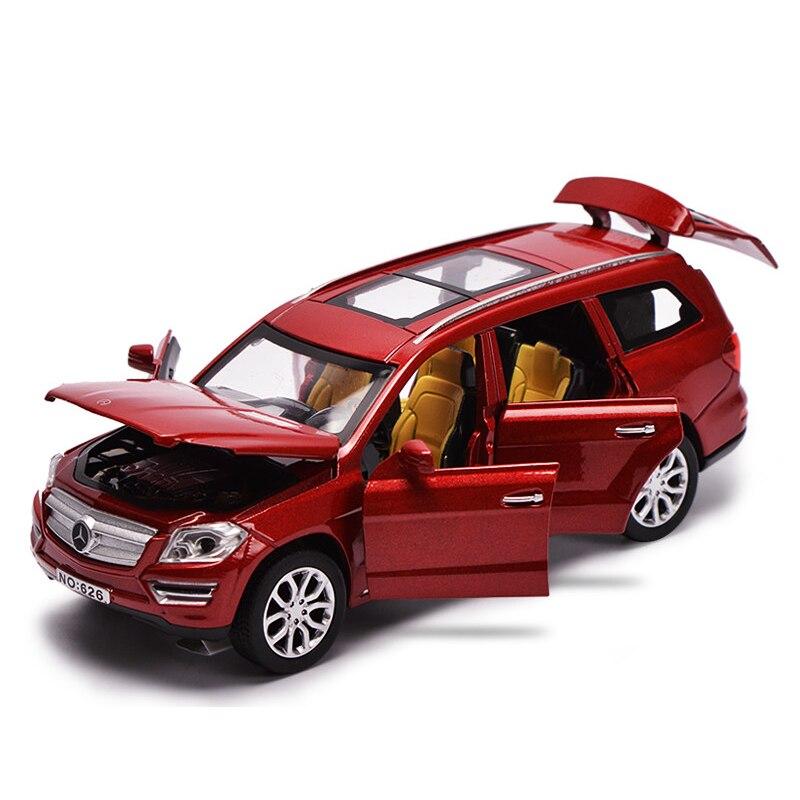 Voiture moulée sous pression w lumières et sons modèles à collectionner alliage moulé sous pression modèle voiture jouets Unboxing jouet véhicule enfants garçons cadeau
