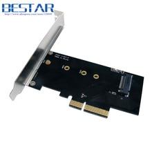 PCI-E 3.0×4 Lane Хост-Адаптер Конвертер Card M.2 NGFF Ключ М SSD в Nvme PCI Express