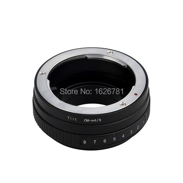 Tilt Mount Adapter Ring Lens Adapter Suit For Olympus OM Lens to Micro 4/3 Camera Panasonic LUMIX GX7 GF6 GH3 G5 GF5 25mm f1 4 cctv lens macro rings c m4 3 adapter ring set for olympus panasonic camera silver