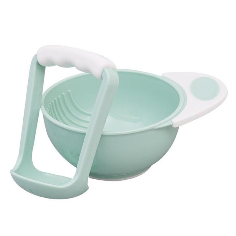 Children's Food Feeding Supplement Mash And Serve Grinding Bowl Baby Manual Food Conditioner Solid Bowl