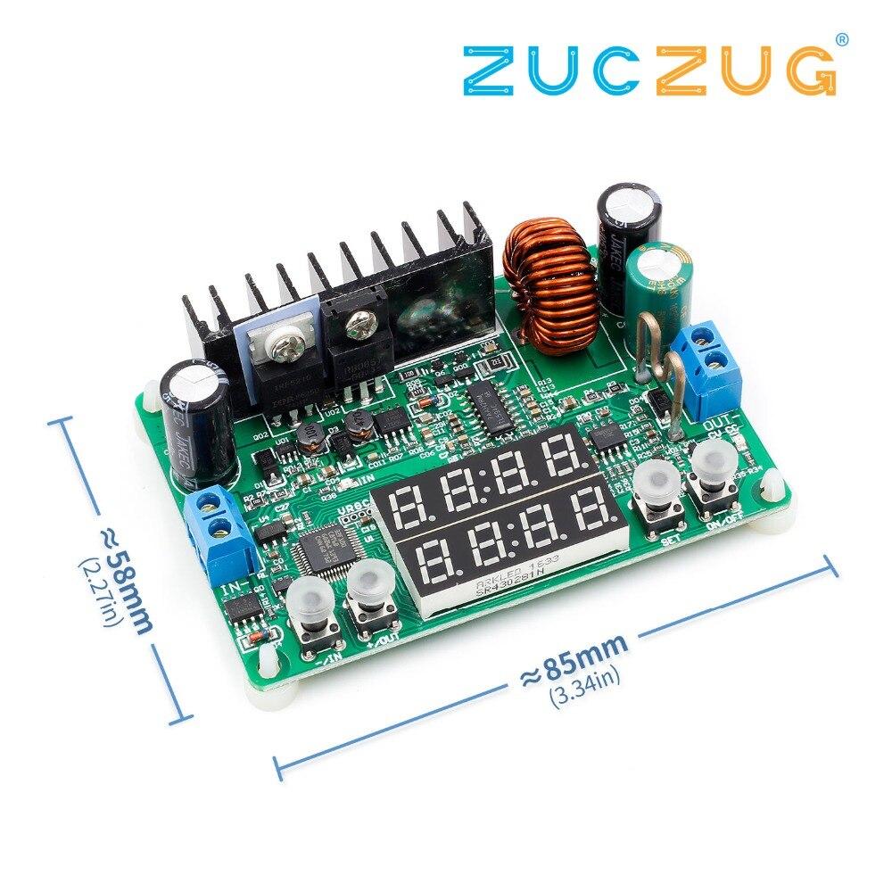 DP30V5A-L tensão constante atual step-down módulo de alimentação programável buck voltage converter regulador display led