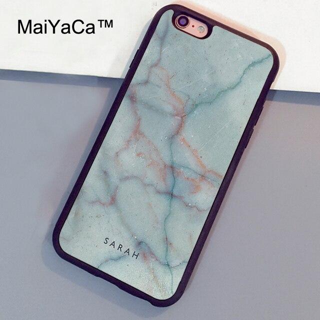 marble initial phone case iphone 6 plus
