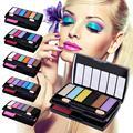 8 colors eye shadow makeup smoky makeup maquiagem vintage earth color eye shadow A2