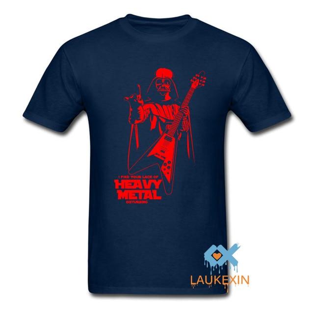 Darth Vader Heavy Metal Designer T-Shirts Short Sleeve Mens Womens T Shirt Christams Gift Shirt Summer Style Camisetas Shirt