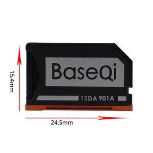 Image 2 - מקורי BaseQi אלומיניום Minidrive Microsd כרטיס מתאם 901A עבור Lenovo yoga 900 & 710 SD קורא כרטיסי זיכרון כרטיס מתאמי usb c