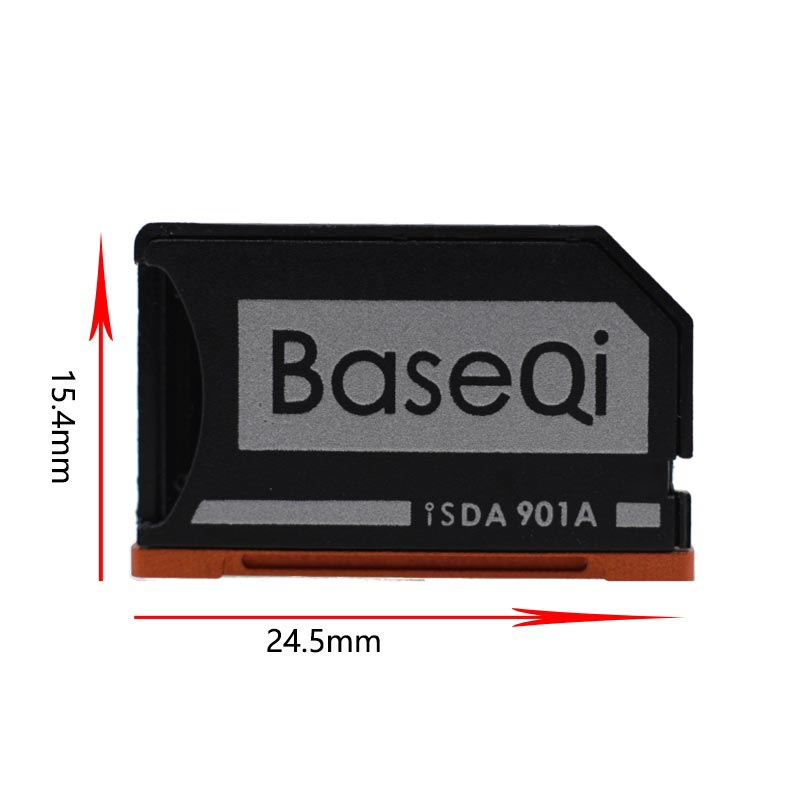 Image 2 - Original BaseQi Aluminum Minidrive Microsd Card Adapter 901A For Lenovo yoga 900 & 710 SD card reader Memory Card Adapters usb c-in Memory Card Adapters from Computer & Office