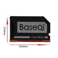 card reader Original BaseQi Aluminum Minidrive Microsd Card Adapter 901A For Lenovo yoga 900 & 710 SD card reader Memory Card Adapters usb c (2)