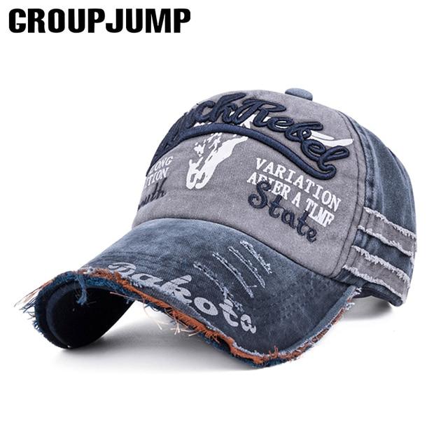 De moda lavado gorra de béisbol de las mujeres de los hombres al aire libre  tapas e7ac5729103