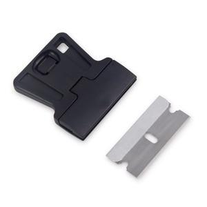 Image 2 - EHDIS 3pcs Auto Razor Scraper With Steel Knife Blade Vinyl Film Car Wrap Squeegee Cutter Window Tint Glue Sticker Remover Tools