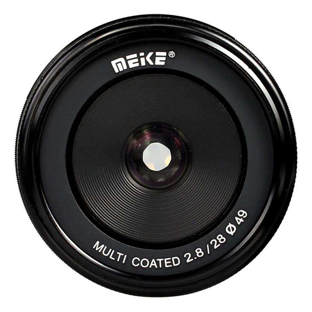28mm 28 mm F2.8 f/2.8 Manual Large Aperture Lens for Olympus Panasonic M43 MFT EP5 OM-D E-M1 E-M10 E-PL7 EM5 EM1 EM10 Mark II